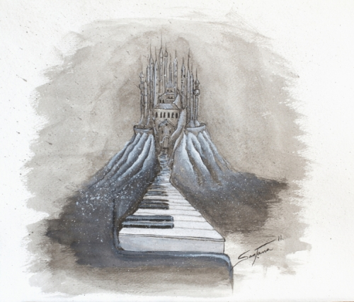 piano into castle©tito santana2012