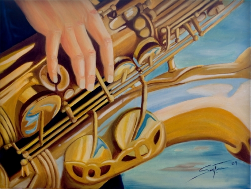 The Sax Player©titosantana2012